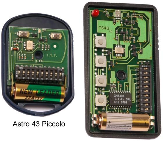 Fadini Remote Control Transmitters