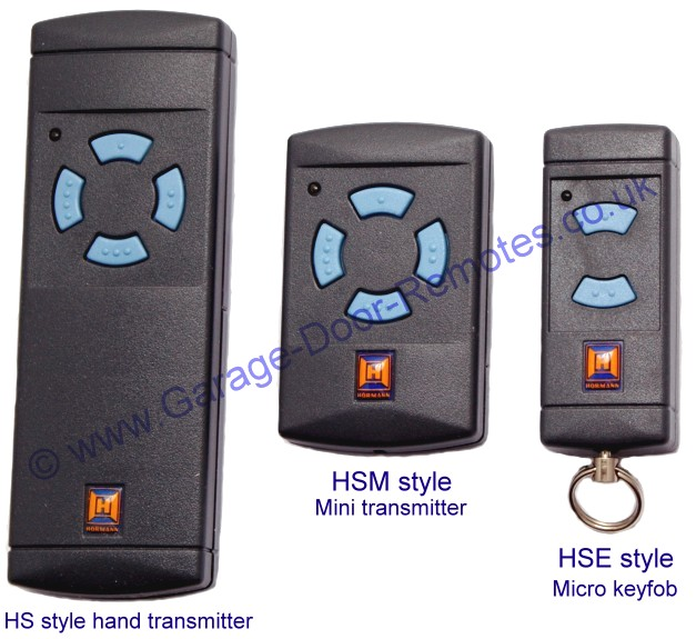 Hormann 868mhz Remote Control Hand Transmitters
