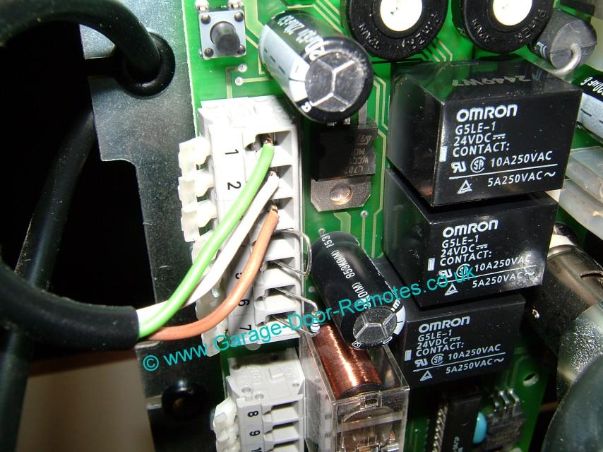 Remote Control System Upgrade Kit For Hormann Garage Door