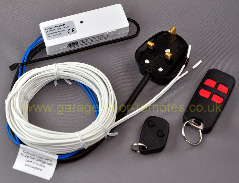 seip_ekr1mct3_230v_13a remote control system upgrade kit for merlin garage door operator merlin 230t wiring diagram at crackthecode.co