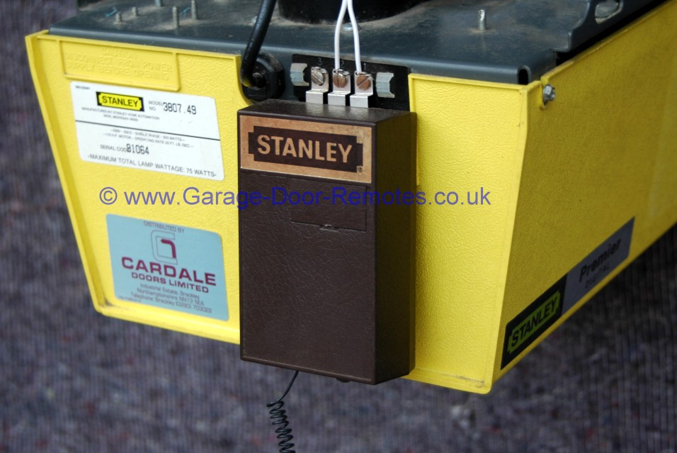 Remote Control System Upgrade Kit For Stanley Garage Door Operators