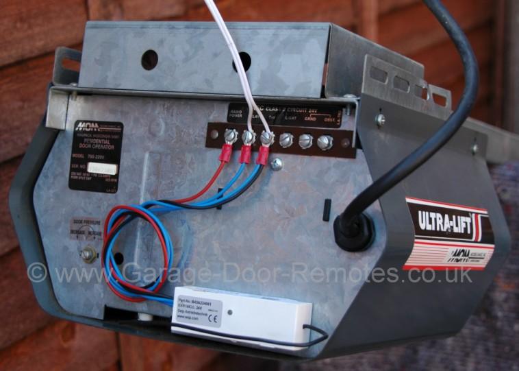 Remote Control System Upgrade Kit For Slave Dor Garage